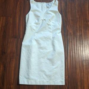 Loft size 2p white dress